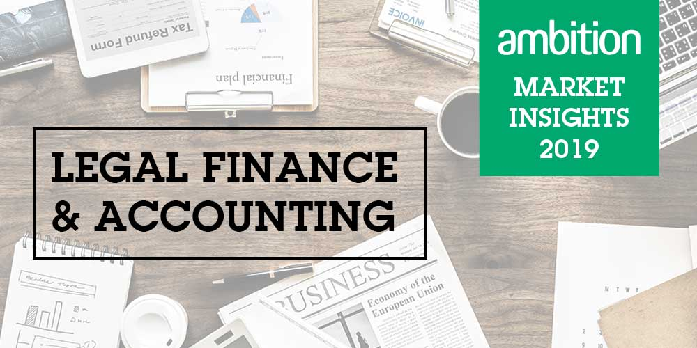 Legal Finance & Accounting Market Insights Q1 2019